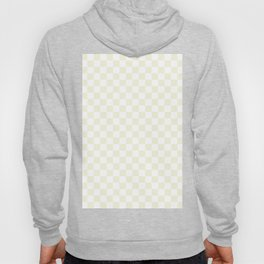 Small Checkered - White and Beige Hoody