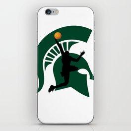 Michigan Basketball iPhone Skin