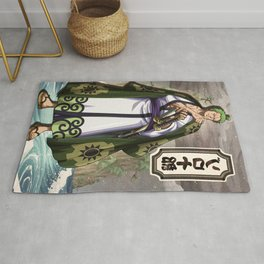 Zoro wano  - One piece Rug