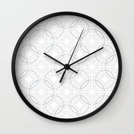 Rondo Grey Wall Clock