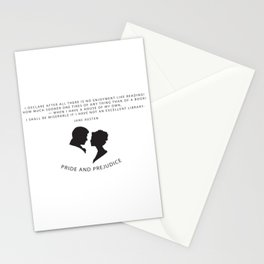 Pride and Prejudice A Stationery Cards