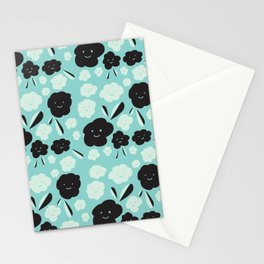 Smiling Flowers Stationery Cards