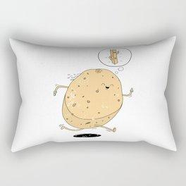 Keep Fit Goals Rectangular Pillow