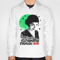 amelie Hoodies featuring Amelie Pountain by Pablo Napo