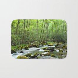 Spring Forest Stream Bath Mat