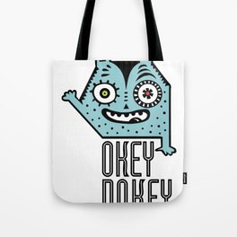 Okey Dokey Monster Tote Bag
