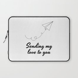 Sending My Love To YOU ! Laptop Sleeve