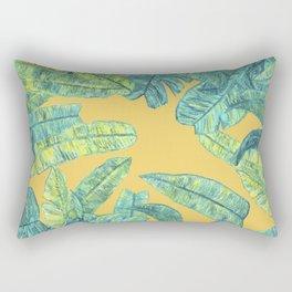 orange tropical daze Rectangular Pillow