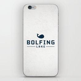 BOLFING LAKE iPhone Skin