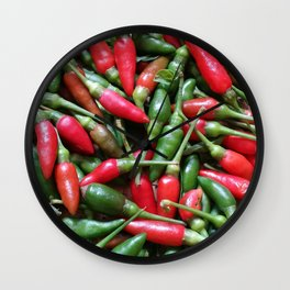 Small & Spicy Wall Clock