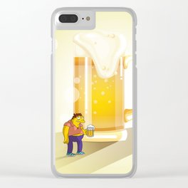 Beer, the Goddess of the Drunkard Clear iPhone Case