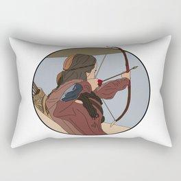 Drop him! Rectangular Pillow