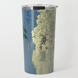EVENING LIGHT AT THE HEAD OF THE LAKE Travel Mug