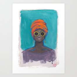 Confidence Art Print