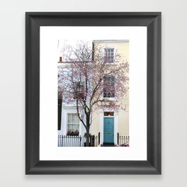 Colours of Notting Hill Framed Art Print