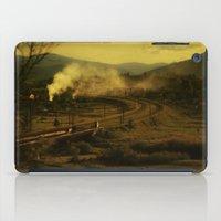 train iPad Cases featuring train by MartaSyrko