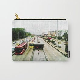 The mobility of the city. Carry-All Pouch