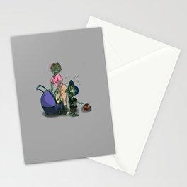 Zombie Family Stationery Cards