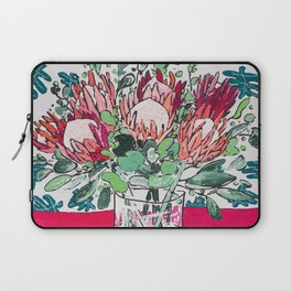 Bouquet of Proteas with Matisse Cutout Wallpaper Laptop Sleeve