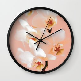 The mystery of orchid 9 Wall Clock