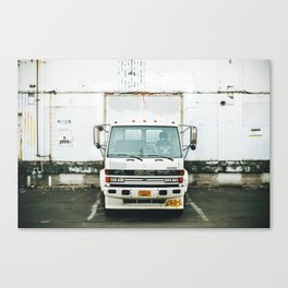 The Work Truck Canvas Print