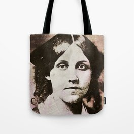 Louisa May Alcott Tote Bag