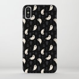 Sweet & Spooky Ghosts iPhone Case