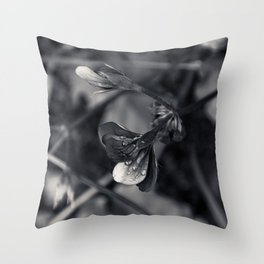 Drip Drop Teardrop Throw Pillow