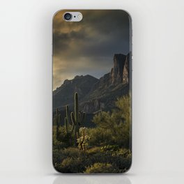 Rainy Day in the Superstitions iPhone Skin