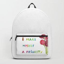 I make myself a priority Backpack
