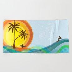 Enjoy summer Beach Towel