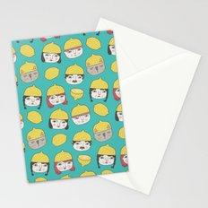 Pattern Project #10 /Lemon Hats Stationery Cards
