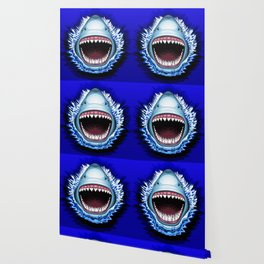 Shark Jaws Attack Wallpaper