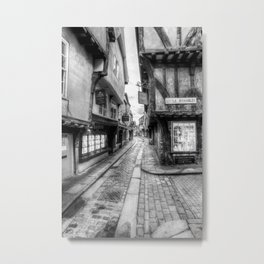 The Shambles Street York Metal Print