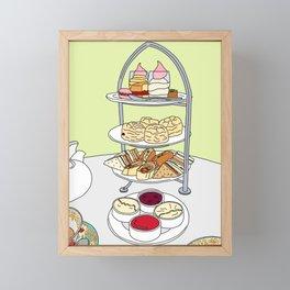 English Afternoon Tea Framed Mini Art Print
