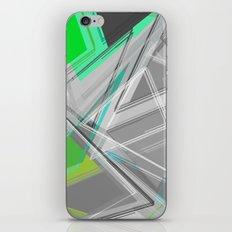∆Green iPhone & iPod Skin