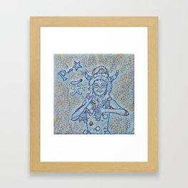 Ao P-Chan Framed Art Print