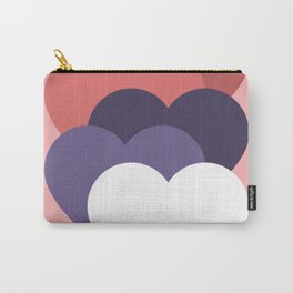 our hearts are not aligned Carry-All Pouch