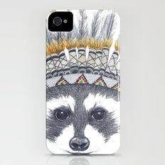 Festivale Raccoon iPhone (4, 4s) Slim Case