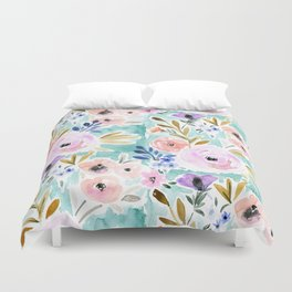 Willow Floral Duvet Cover