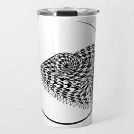 The Chameleon (Houndstooth) Travel Mug