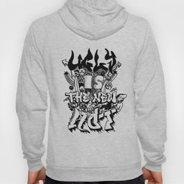 Ugly is the new hot - Monster lettering Hoody
