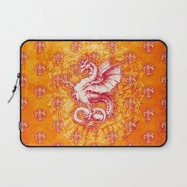 Noble House GINGER FIRE / Grungy heraldry design Laptop Sleeve