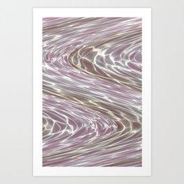 Water Waves Art Print