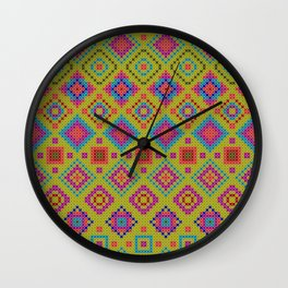 "and the x-dust says ""let's dance"" Wall Clock"