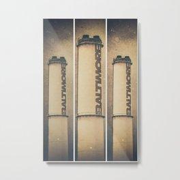 Bmore Stacked Metal Print