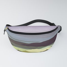 Sunset over the Valley Fanny Pack
