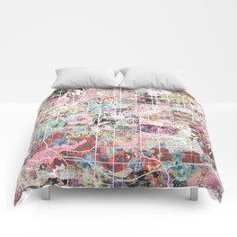 Des Moines map Comforters