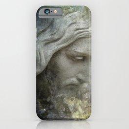 head of a statue -a- iPhone Case