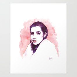 Polly Jean Harvey Art Print